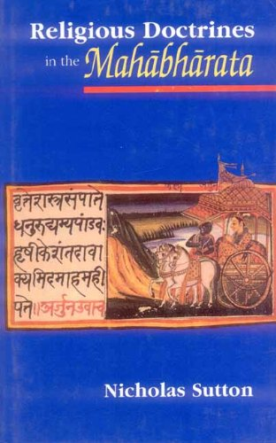 9788120817029: Religious Doctrines in the Mahabharata