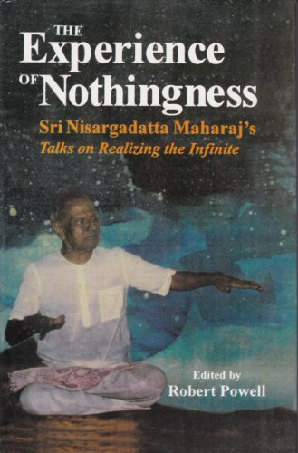 9788120817326: The Experience of Nothingness