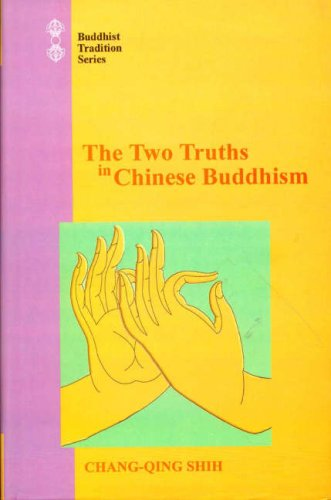 9788120820357: The Two Truths in Chinese Buddhism (Buddhist Tradition)