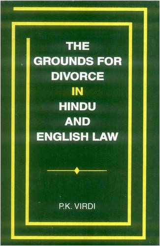Grounds for Divorce in Hindu and English Law