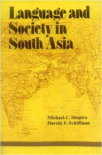 9788120826076: Language and Society in South Asia