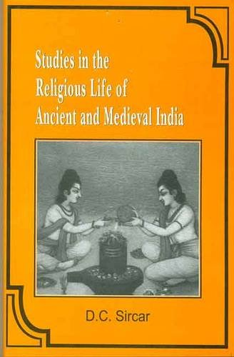 9788120827905: Studies in the Religious Life of Ancient and Medieval India
