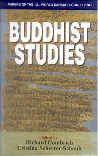9788120832480: Buddhist Studies: Papers of the 12th World Sanskrit Conference Vol. 8 (v. 8)