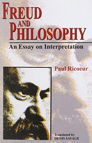 9788120833050: Freud and Philosophy: An Essay on Interpretation