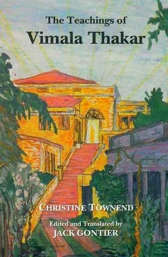 The Teachings of Vimala Thakar: Christine Townend (Author),