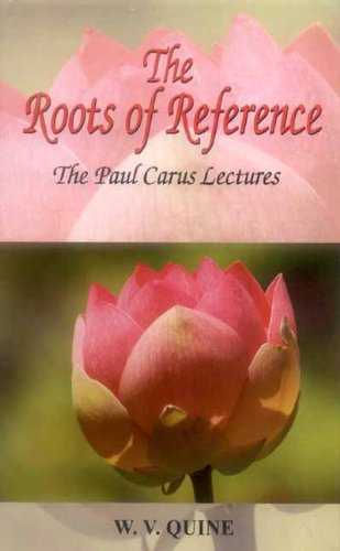 9788120833654: The Roots of Reference: The Paul Carus Lectures