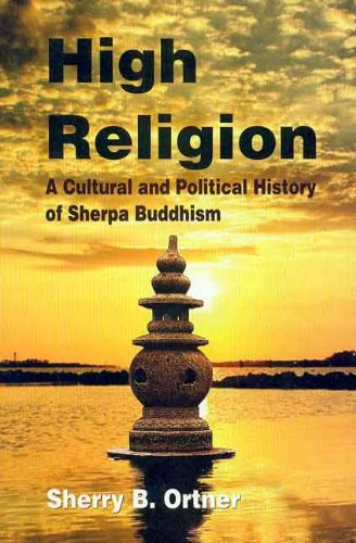 9788120835535: High Religion: A Cultural and Political History of Sherpa Buddhism