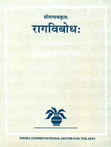 Somanatha's Ragavibodha: Ranganayaki V. Ayyangar