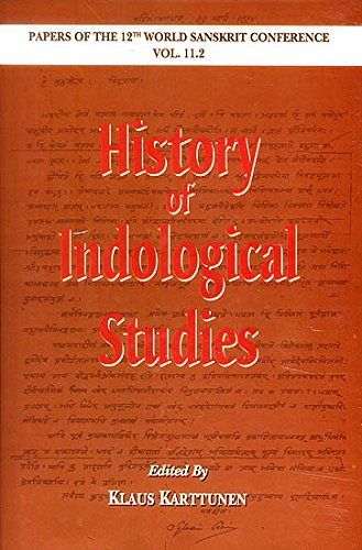 9788120839946: History of Indological Studies