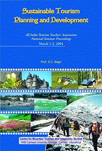 Sustainable Tourism Planning and Development : All India Tourism Teachers Association National: S C...