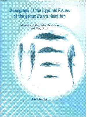 Monograph of the Cyprinid Fishes of the: A.G.K. Menon