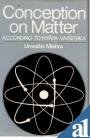 9788121200905: Conception on Matter