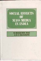 9788121205214: Social Effects of Mass Media In India