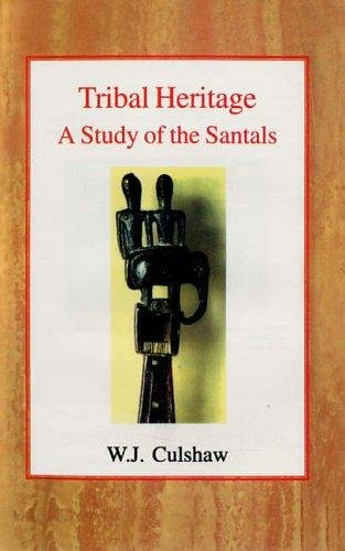 9788121208574: Tribal Heritage: A Study of the Santals