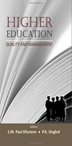 Higher Education: Quality And Management [Hardcover]: S.M. Paul Khurana