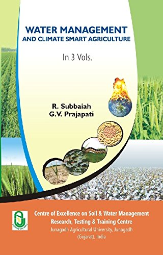 9788121213158: Water Management And Climate Smart Agriculture (1st Vol.)