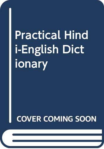9788121400732: Practical Hindi-English Dictionary