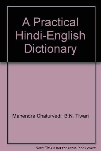 9788121404501: A Practical Hindi-English Dictionary