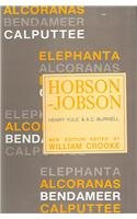 Hobson-Jobson: A Glossary of Colloquial Anglo-Indian Words: Henry Yule, A.C.