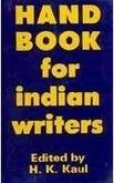 Handbook For Indian Writers 1975