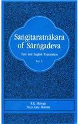 Sangitaratnakara Of Sarngadeva: Text And English Translation With Comments And Notes; Chapter I, (...
