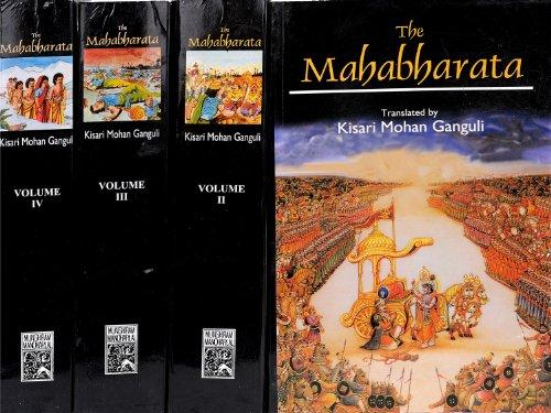 Mahabharata of Krishna-Dwaipayana Vyasa (4 Volume Set): Kisari Mohan Ganguli