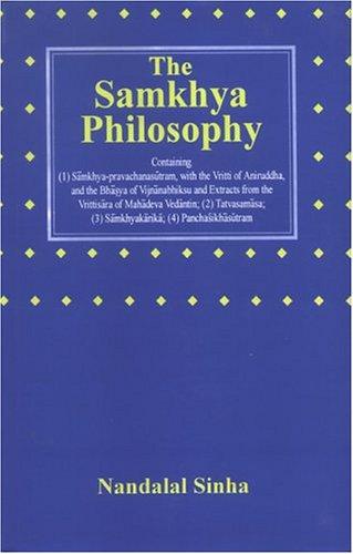 9788121510974: Samkhya Philosophy