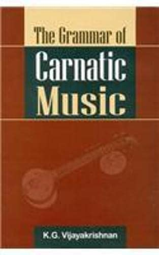 9788121512336: Grammar of Carnatic Music (with CD)