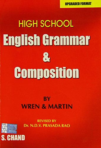 9788121900096: High School English Grammar and Composition