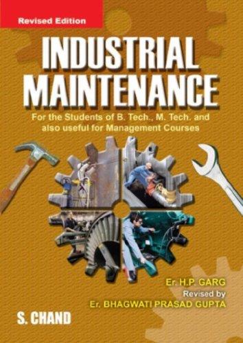 9788121901680: Industrial Maintenance