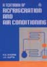 9788121902687: Textbook of Refrigeration and Air Conditioning