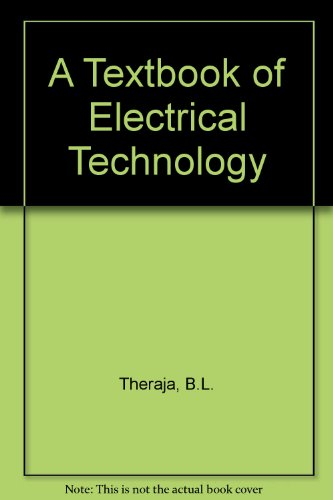 9788121902892: A Textbook of Electrical Technology