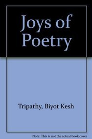 Joys of Poetry: B.K. Tripathi