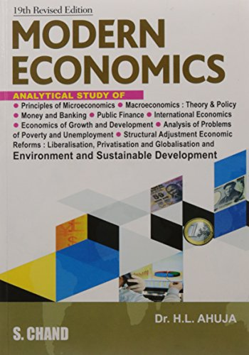 Modern Economics, (Revised Edition): Dr. H.L. Ahuja