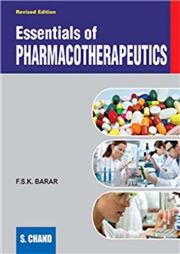9788121904445: Essentials of Pharmacotherapeutics