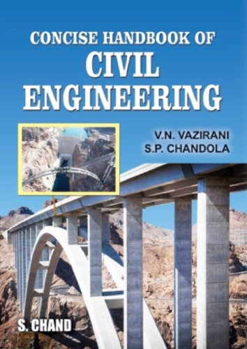 Concise Handbook of Civil Engineering (Hardback): V.N. Vazirani, S.