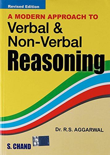 A Modern Approach To Verbal & Non-Verbal: R S Aggarwal