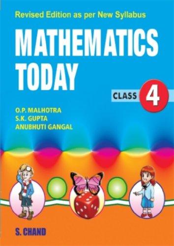 Mathematics Today-4 (ICSE): Gupta S.K. Gangal