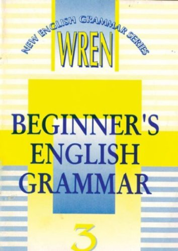 9788121906708: New English Grammar: Beginner's French Grammar Pt. 3