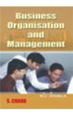 9788121908139: Business Organisation and Management