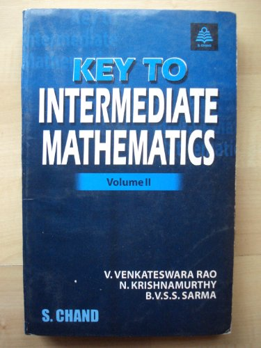 9788121908337: Key to Intermediate Mathematics (Vol.2)