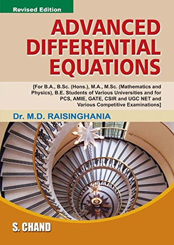9788121908931: Advanced Differential Equations