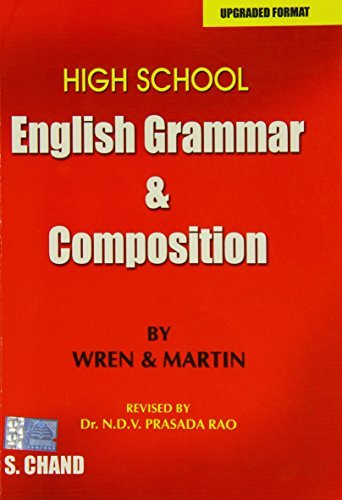 9788121909297: High School English Grammar and Composition