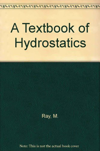 9788121914055: A Textbook of Hydrostatics