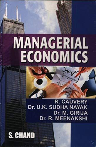 Managerial Economics: Dr. U.K. Sudha