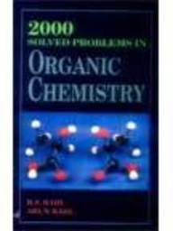 9788121914666: 2000 Solved Problems in Organic Chemistry: BSC Students