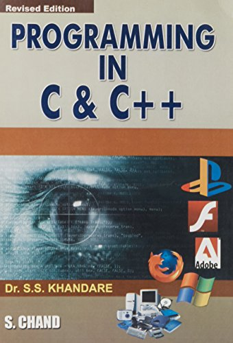 Programming in C & C++: Khandare S.S.