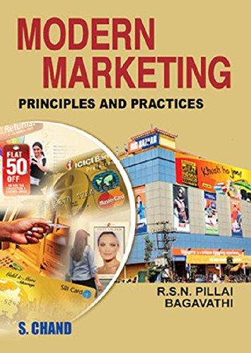 Modern Marketing: Principles and Practices: Bagavathi,R.S.N. Pillai