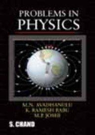 Problems in Physics: Dr M.N. Avadhanulu
