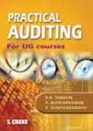 Practical Auditing for UG Courses for Madras: B.N. Tandon,S. Sudharsanam,S. Sundharabahu